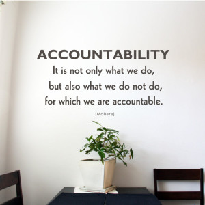 Accountability-art
